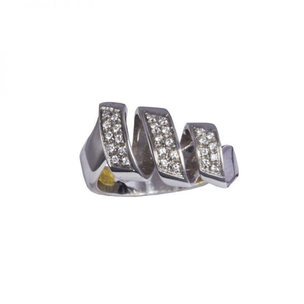 anello Recarlo con brillanti ZG 923/B
