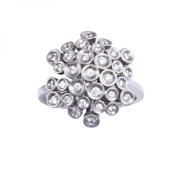 anello Recarlo con brillanti ZR 111/1B