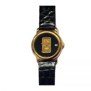 orologio donna seiko con lingottino d'oro
