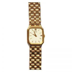 orologio donna Seiko in metallo dorato