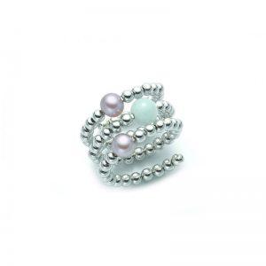 anello Miluna Vortice PLI1398AG