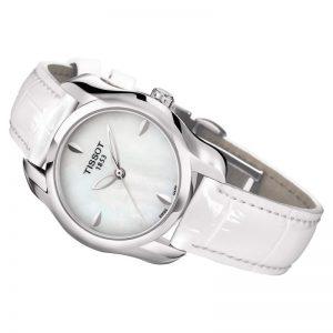 orologio donna Tissot in pelle bianco